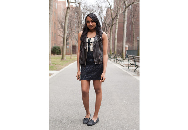 Washington Square News : Style your leather vests to complement ...