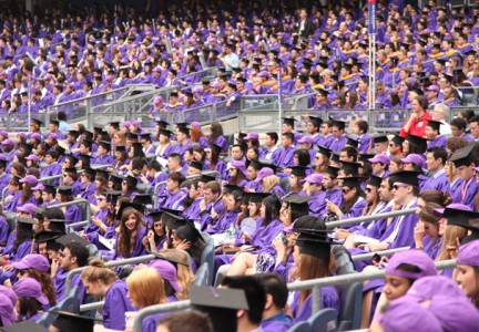 All-University Commencement 2013