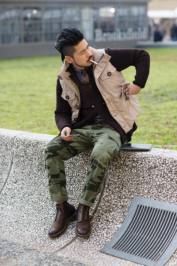 Tricky Trend Go Military Chic In Camouflage Pants