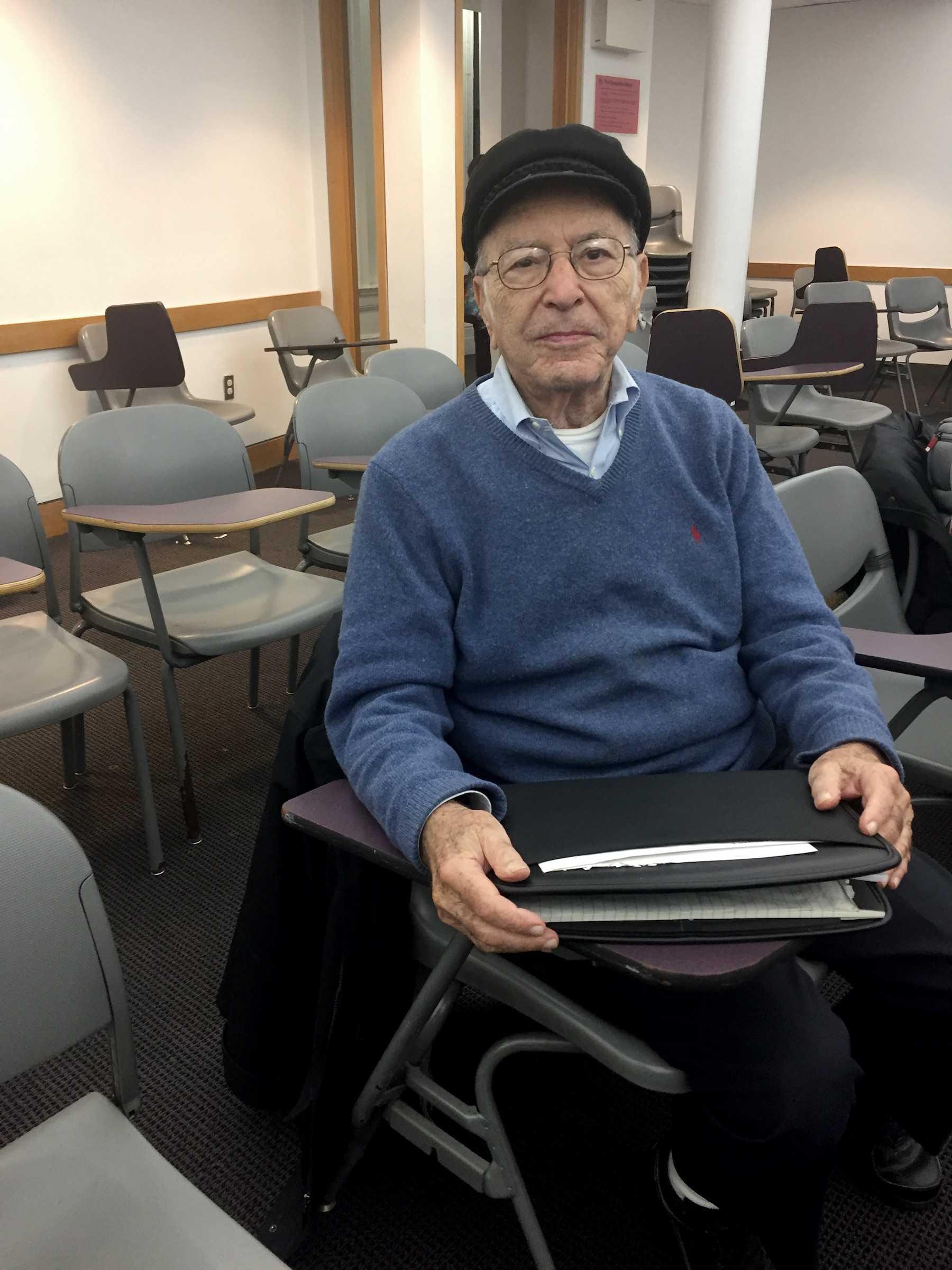 Meet the Man Taking Classes at NYU for 60 Years | Washington