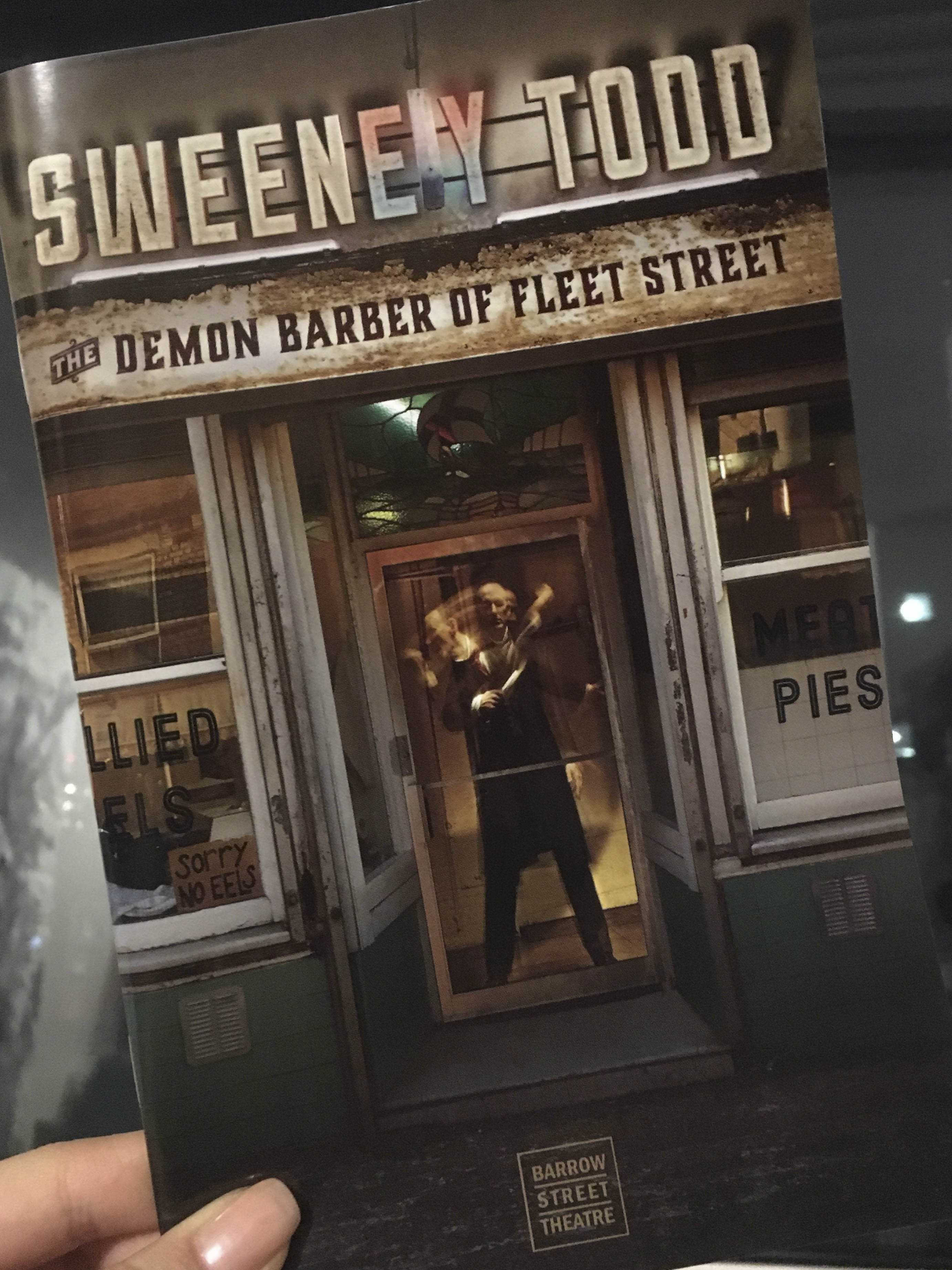 The Barber Is Back On Barrow Street For Sweeney Todd
