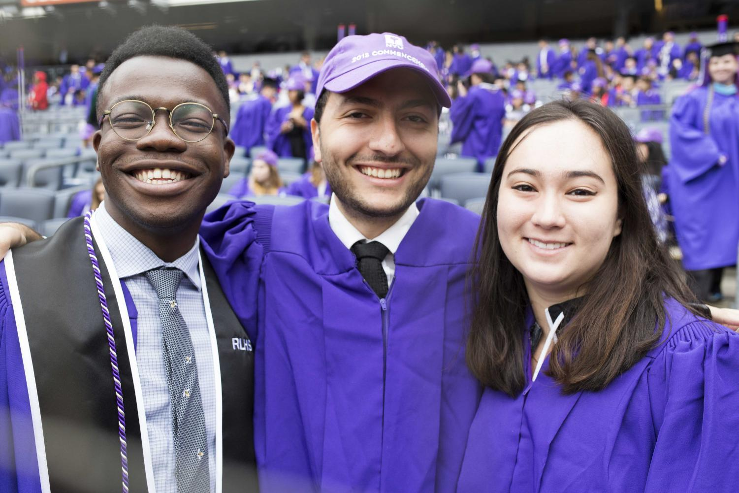NYU\'s Class of 2018 Shines Through the Showers at 186th Commencement ...