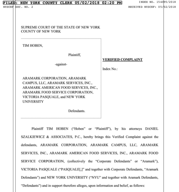 The Former Downstein Manager's $5 Million Lawsuit Against