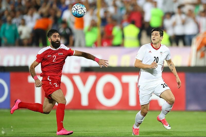 a88267a2112d Syria and Iran drew in a 2018 FIFA World Cup qualification match.