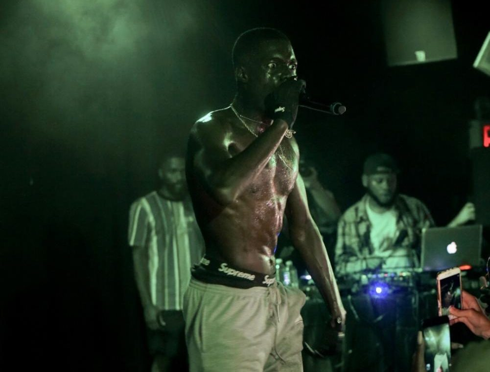 Sheck Wes Paints the Town Rouge at Mystery Concert ...