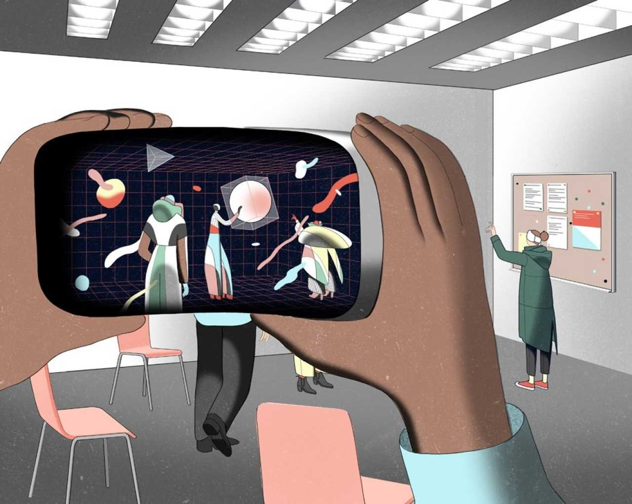 The 'Holodeck' Propels NYU to the Future | Washington Square News