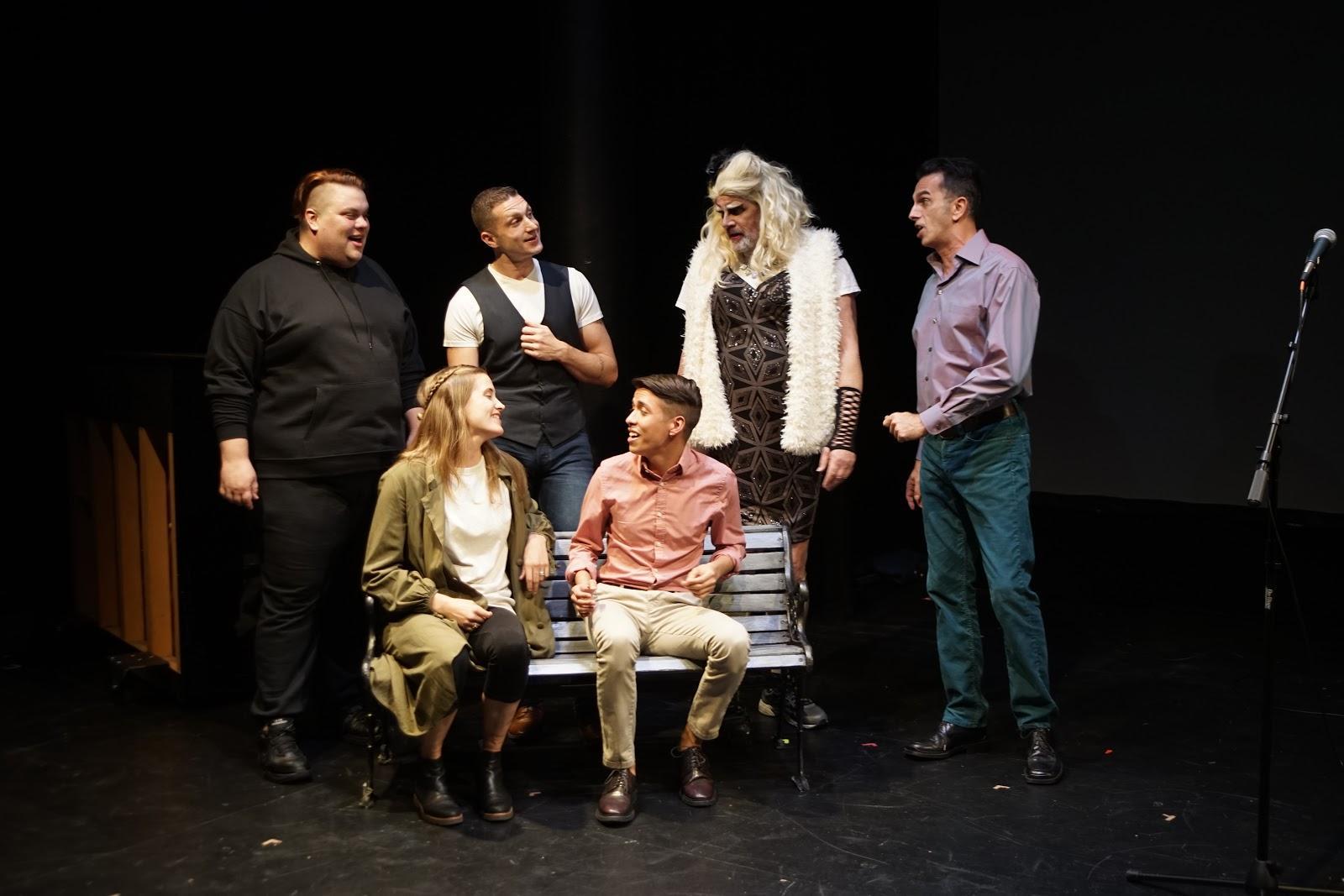 steinhardt s original production living with addresses the aids