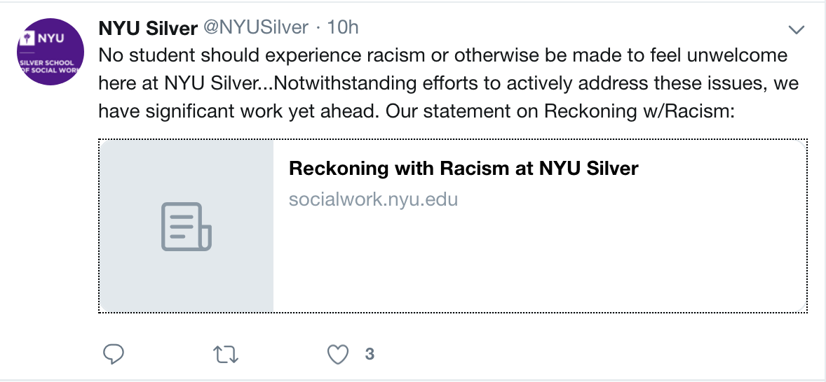 Silver Releases Statement Addressing Racist Email